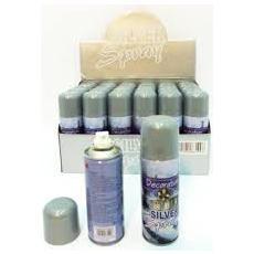 Bomboletta Spray 250 ml Colore Argento