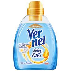 Ammorbidente Concentrato Soft&oil Blu 750 Ml. Detergenti Casa