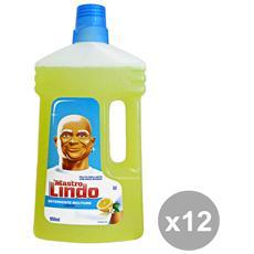 Set 12 Pavimenti Limone 950 Ml. Detergent