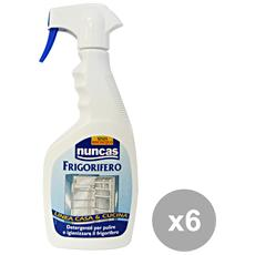 Set 6 Sgrassatore Frigorifero Trigger 500 Ml. Detergenti Casa