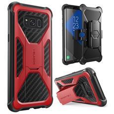 Cover per Galaxy S8 Plus Colore Rosso / Nero