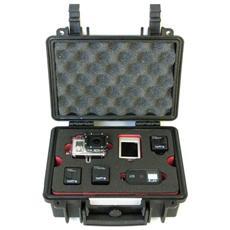 KPC-GP2-B Custodia rigida Nero custodia per fotocamera