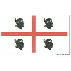 Bandiera Sardegna 20 x 30 cm