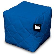 Pouf Outdoor B-box Royal Blue Trapuntato