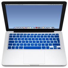 Protezione Azzurro Tastiera Ultrasottile 0.10mm Anti Polvere Sporco Duster Acqua Per Macbook Universale