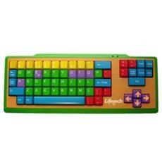 Teclado Kids Keyboard USB USB QWERTY Multicolore tastiera