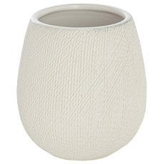 Portaspazzolino in ceramica bianca linea Safari