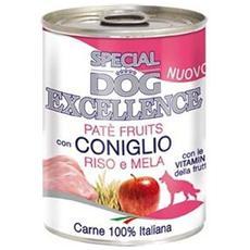 Cane, Patè Frutta Coniglio Riso E Mela Gr 400