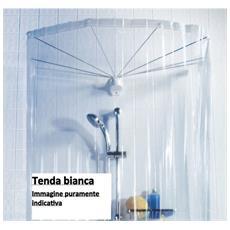 Set Sospensione Ad Ombrello 8 Braccia Con Tendabianca Per Vasca Da Bagno - Ombrella 10.04441