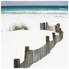Toile Imprimée Beach 65 X 65 Cm