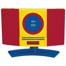 MC 4464, Digitale, FM, PLL, Lettore, CD, CD-R, CD-RW, AC, Auto stop, Pause, Ripeti tutto, Ripeti una