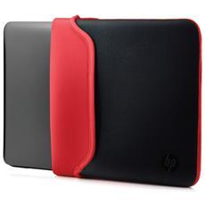 """Custodia Notebook Fino a 14"""" Colore Rosso e Nero"""