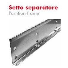 Setto Separatore H= 50mm L= 2m Sendzimir