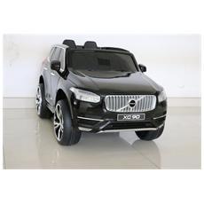 Auto Elettrica Volvo Xc 90 Nera Con Luci, Suoni E Telecomando 12 Volt Xc90 / bk