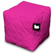 Pouf Outdoor B-box Pink Trapuntato