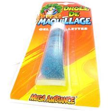 tubo 'maquillage festif' blue paillettes - [ i6953]