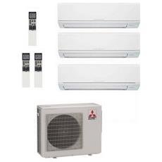 Condizionatore Fisso Multisplit 3DM50VA+2xDM25+35VA Potenza 9000+9000+12000 BTU / H Classe A++ / A Inverter