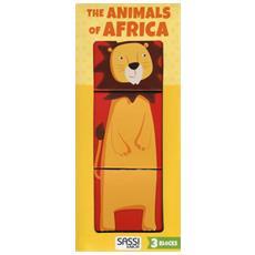 The Animals Of Africa. Eco-cubotti. Ediz. A Colori