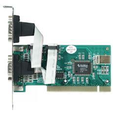 PCI Multi I / O 2 x Serial-Ports scheda di interfaccia e adattatore