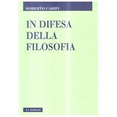 In difesa della filosofia