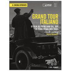 Grand Tour italiano. 61 film dei primi anni del '900. 2 DVD. Con libro. Ediz. italiana e inglese