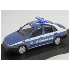 Fm01bis Fiat Marea Polizia Berlina Lamp. lung Modellino