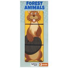 Forest Animals. Eco-cubotti. Ediz. A Colori