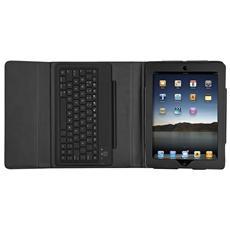 Custodia Folio con supporto e tastiera bluetooth per iPad
