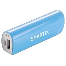 Power Bank Batteria Esterna 2600 mAh - Blu