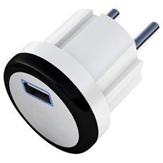 IPW-USB-SH21 - Alimentatore Universale a 1 Porta USB Bianco 2,1A