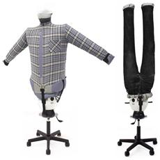 Stira Asciuga Camicie Pantaloni In Automatico Stirasciugatore Sa06 Inox Manichino Ad Aria Calda