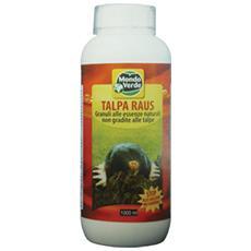 Repellente Granulare Per Talpe 1000 Ml Giardino Scaccia Talpe Ecologico Rep96