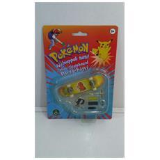 Pokemon Mini-skateboard Portachiavi Con Ruote E Accessori - Charmander - 8000144512157