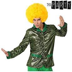 Giacca Per Adulti Th3 Party Disco Brillante Verde Xs / s