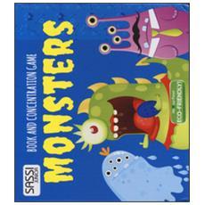 Monsters. Book And Concentration Game. Ediz. A Colori. Con Carte