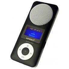 Sedna Lettore MP3 8GB Nero, Acciaio inossidabile