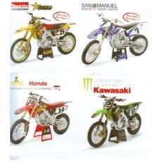 Moto Racing Dirt Bike 1:12 4 Ass.