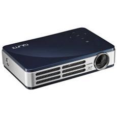 Pico Proiettore 500 ANSI Lumen Qumi QR5 con lampada LED colore Blu