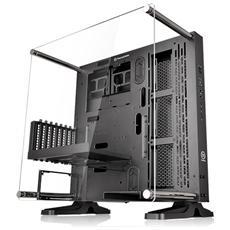 Case Core P3 Design Middle Tower ATX / Micro-ATX / Mini-ITX Colore Nero (con Finestra LateraleTrasparente)
