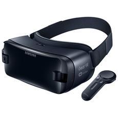 Gear VR Visore di Realtà Virtuale con Controller per Galaxy S8 / S8 Plus e Note8 - Nero