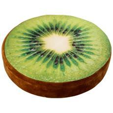 Cuscino Morbido Per Sedia In Tessuto Forma Kiwi