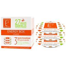 Energy Box Ai 27 Oli Essenziali Bio Per Diffusore Iris - Vitalità (3 Capsule Ricariche Ecologiche)