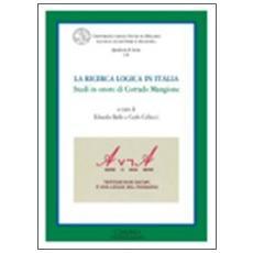 La ricerca logica in Italia. Studi in onore di Corrado Mangione