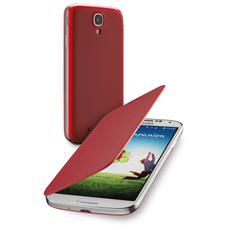 Backbook Galaxy S4-flip Cover Rossa