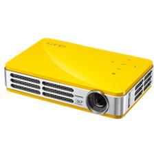 Pico Proiettore WXGA 500 ANSI Lumen Qumi QR5 con lampada LED colore Giallo