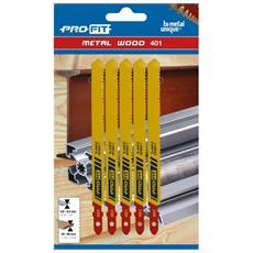 Lame Seghetto Alternativo Per Legno / acciaio Mm 100x9,5x1 (confezione 5 Pz)