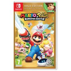 UBISOFT - Switch - Mario + Rabbids Kingdom Battle Gold...