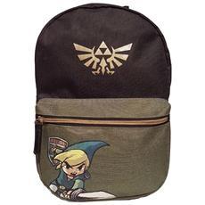 Nintendo: Legend Of Zelda (the) - Black Woods Boys Multicolor (zainetto)