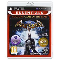 PS3 - Essentials Batman Arkham Asylum Game Of The Year Edition