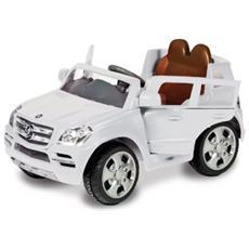 Auto Elettrica Mercedes Benz con Luci, Suoni e Radiocomando 6 Volt 1023 / B